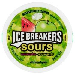 Ice Breakers Sours Watermelon Green Apple 42g