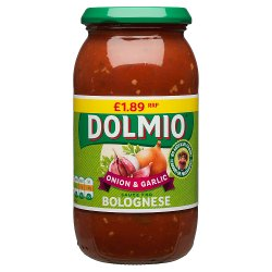 DOLMIO® Onion & Garlic Sauce for Bolognese 500g