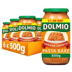 Dolmio Pasta Bake PMP £1.99 Creamy Tomato Pasta Sauce 500g