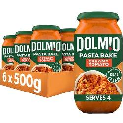 DOLMIO® Creamy Tomato Sauce for Pasta Bake 500g