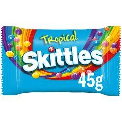 Skittles Tropical Standard Single Bag 45g