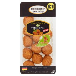 Delicatessen Fine Eating Veggie Bites 200g