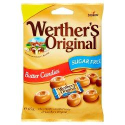 Werther's Original Sugar Free Butter Candies 65g