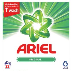 Ariel Washing Powder Original 1.43Kg 22 Washes