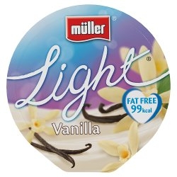 Müllerlight® Vanilla Fat Free Yogurt 175g