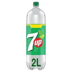 7UP Regular Lemon & Lime Bottle 6 x 2L