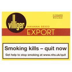 Villiger Export Round Cigars 5 Pack