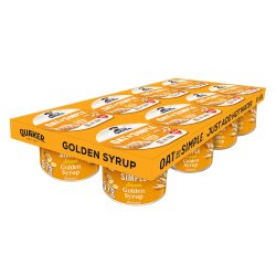 Quaker Oat So Simple Golden Syrup Porridge Multipack Pots 8 x 57g