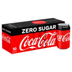Coca-Cola Zero Sugar 10 x 330ml PMP £3.99