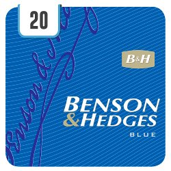 Benson & Hedges Blue 20 Cigarettes Track & Trace Compliant