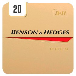 Benson & Hedges Gold 20 Cigarettes Track & Trace Compliant