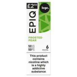 Logic Epiq Frosted Pear 6mg/ml 50VG/50PG 10ml