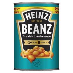 Heinz Beanz in a Rich Tomato Sauce 415g
