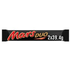 Mars Duo Chocolate Bar 2 x 39.4g