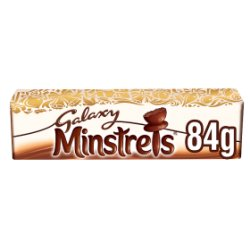 Galaxy Minstrels Chocolate Christmas Gift Tube 84g