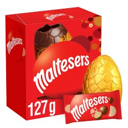 Maltesers Chocolate Medium Easter Egg 127g
