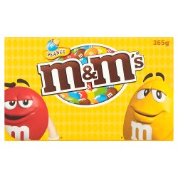 M&M's Peanut Boxed 365g