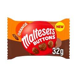 Maltesers Buttons Orange Chocolate Bag 32g