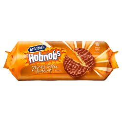 McVitie's Hobnob's Sticky Toffee Pudding Flavour 262g