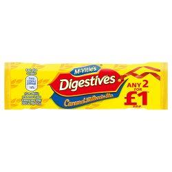 Mcv Caramel Digestive Slice 2/ £1