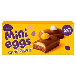 Cadbury Mini Eggs Choc Cakes x 6