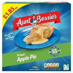 Aunt Bessie's Bramley Apple Pie 550g