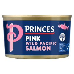 Princes Pink Wild Pacific Salmon 213g