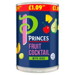 Princes Fruit Cocktail with Juice 410g