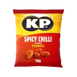 KP Spicy Chilli Flavour Peanuts 50g