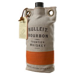 Bulleit Bourbon Frontier Whiskey with 70cl Gift Pack