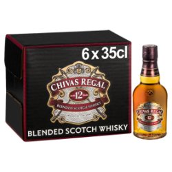 Chivas Regal 12 Year Old Blended Scotch Whisky 6 x 35cl