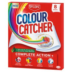 Dylon Colour Catcher Complete Action Laundry Sheets x8