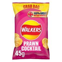 Walkers Prawn Cocktail Crisps 45g
