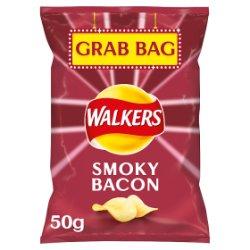 Walkers Smoky Bacon Crisps 50g