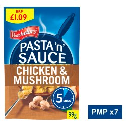Batchelors Pasta 'n' Sauce Chicken & Mushroom Flavour 99g