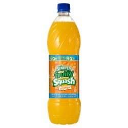 Simply Fruity Squash Orange 1 Litre