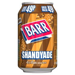 Barr Shandy 330ml Can, PMP 49p