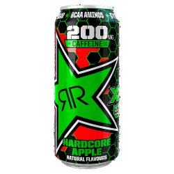 Rockstar XD Power Hardcore Apple Energy Drink 500ml Can