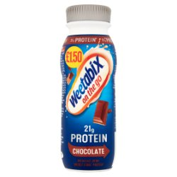 Weetabix On the Go Chocolate Breakfast Protein Drink 275ml Pricemarked £1.50