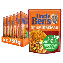 UNCLE BEN'S® Special Spicy Mexican Rice 250g