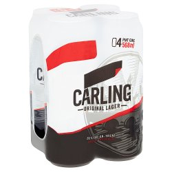 Carling Original Lager 4 x 568ml
