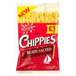 Golden Wonder Chippies Ready Salted Potato Sticks 100g