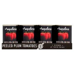 Napolina Peeled Plum Tomatoes 12 x 400g