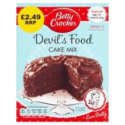 Betty Crocker Devil's Food Chocolate Cake Mix 425g