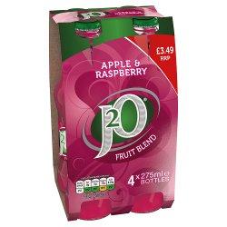 J2O Apple & Raspberry 4 x 275ml