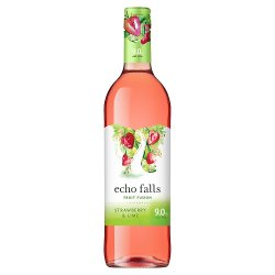 Echo Falls Fruit Fusion Strawberry & Lime 75cl