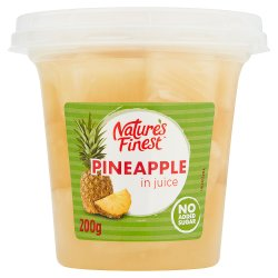 Natures Finest Pineapple in Juice 200g