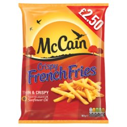 Mccain Crispy French Fries PM £2.50