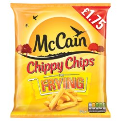 Mccain Chippy Chips PM GBP1.75