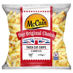 McCain Our Original Choice Thick Cut Chips 2.27kg